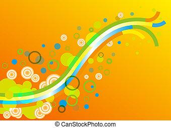 resumen, colorido, plano de fondo, papel pintado