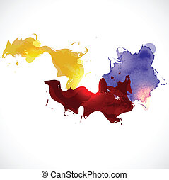 resumen, colorido, plano de fondo, vector, ilustración