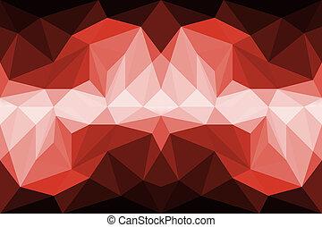 resumen, colorido, polígono, plano de fondo
