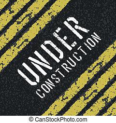resumen, construcción, vector, eps8, debajo, signo.