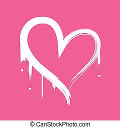 resumen corazón, pintado