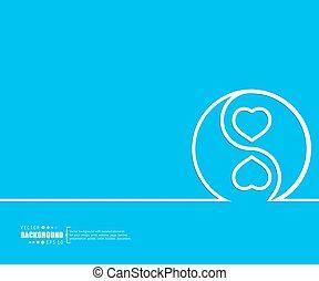 resumen, creativo, concepto, vector, fondo., para, tela, y, móvil, aplicaciones, ilustración, plantilla, diseño, empresa / negocio, infographic, folleto, bandera, presentación, cartel, cubierta, folleto, documento