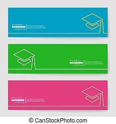 resumen, creativo, concepto, vector, plano de fondo, para,...