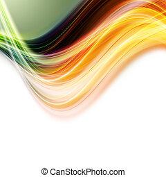 resumen, elegante, eco, plano de fondo, diseño, con, espacio, para, su, texto