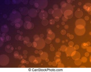 resumen, en, un, colorido, plano de fondo, digital, bokeh, efecto