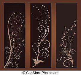 resumen, estandarte floral