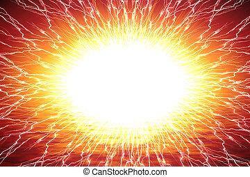 resumen, explosión