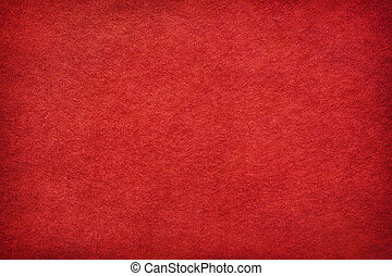 resumen, fieltro, fondo rojo