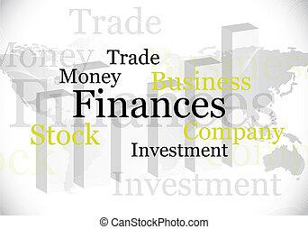resumen, finanzas, diseño