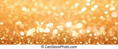 resumen, fondo dorado