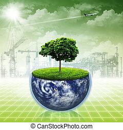 resumen, fondos, ambiental, diseño, excepto, earth., su