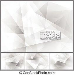 resumen, fractal, plano de fondo