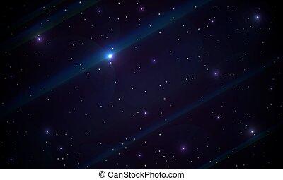resumen, galaxia, plano de fondo