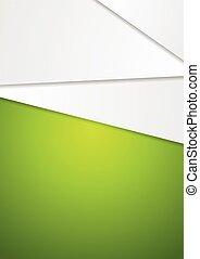 resumen, geométrico, verde, arte, diseño, aviador