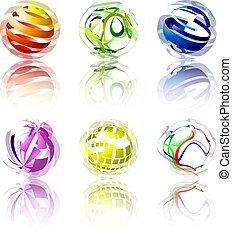 resumen, globos