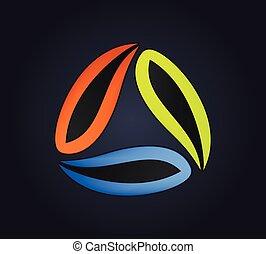resumen, logotipo, diseño
