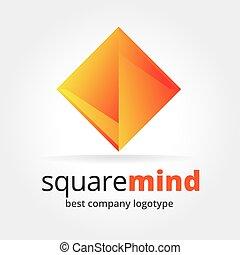 resumen, logotype, aislado, vector, plano de fondo, blanco