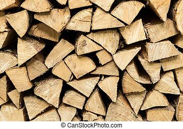 resumen, madera, detalle, abrasador, pila