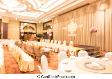 resumen, mancha, boda, magnífico, salón de baile, vestíbulo