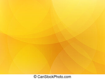 resumen, naranja, y, fondo amarillo, papel pintado