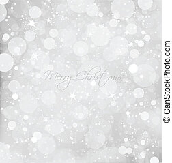 resumen, navidad, nieve, fondo., vector