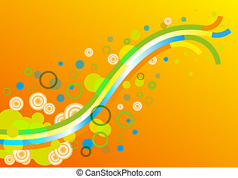resumen, papel pintado, colorido, plano de fondo