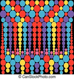 resumen, patrón geométrico