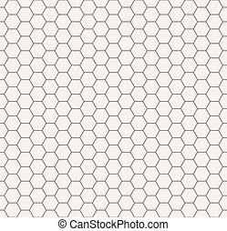 resumen, pattern., seamless, negro, blanco, panal