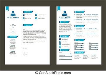 resumen, plan de estudios, diseño, vitae, insignia, cv