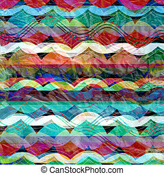 resumen, plano de fondo, con, rayas, ondas
