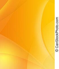 resumen, plano de fondo, de, color anaranjado