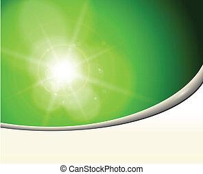 resumen, plano de fondo, verde