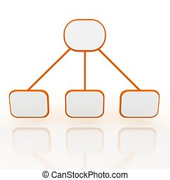 resumen, presentación, compañía, plano de fondo, 3d