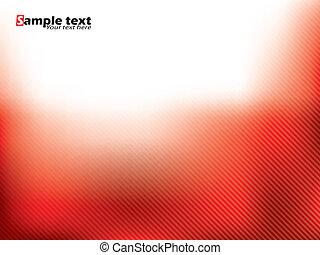 resumen, rojo, folleto, diseño, con, rayas