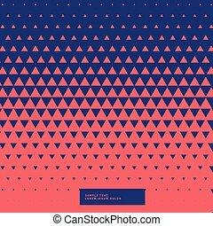 resumen, triángulos, patrón, plano de fondo
