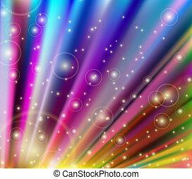resumen, vector, plano de fondo, multicolor