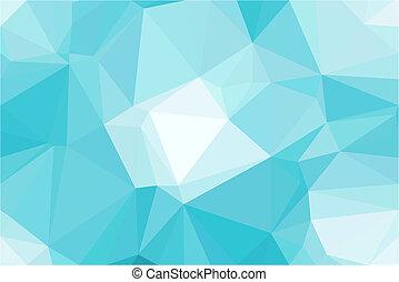 resumen, vector, polígono, plano de fondo