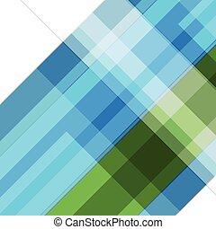 resumen, verde azul, geométrico, tecnología, plano de fondo