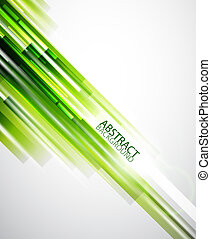 resumen, verde, líneas, plano de fondo