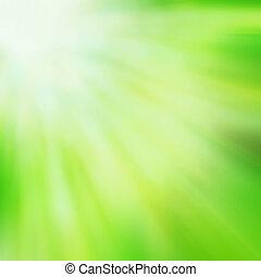 resumen, verde, vívido, plano de fondo