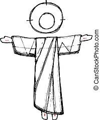 resurrección, cristo, jesús