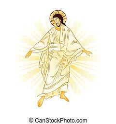 resurrección, de, jesús