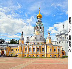 Resurrection Cathedral in Vologda.