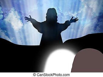 Resurrection of Jesus Christ-Jesus is risen