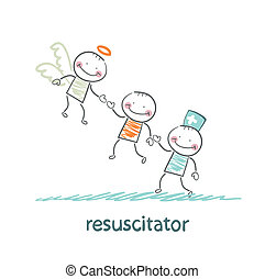 resuscitator keeps patients picking up Angel
