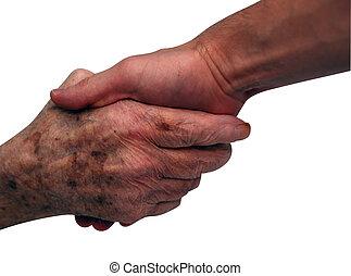 reszkető kezezés