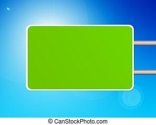 retângulo verde