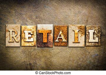 Retail Concept Letterpress Leather Theme