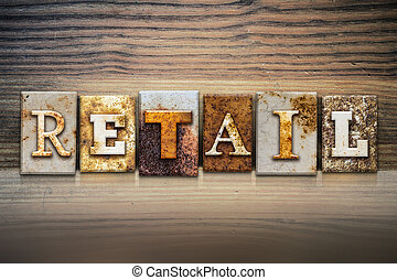 Retail Concept Letterpress Theme