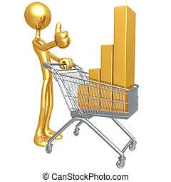 Retail Performance - 3D Concept And Presentation Figure